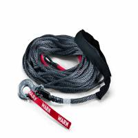 Winches & Recovery - Winch Accessories - Warn - Warn 10,000 LB Cap 3/8 Inch Dia x 100 Ft Polyethylene Rope With Hook 87915