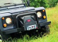 Winches & Recovery - Winch Covers - Warn - Warn Winch Cover For Use with M8274-50 Winch; Nylon-Backed Vinyl 8557