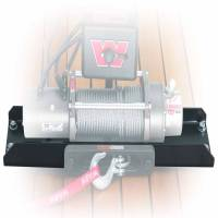Winches & Recovery - Winch Mounts - Warn - Warn For Use with M12 and M8274-50 Winches; Fixed Mount; Powder Coated; Black; Steel 11078