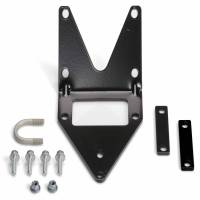Winches & Recovery - Winch Mounts - Warn - Warn For 4000 to 4500 Pound Winches; Fixed Mount; Powder Coated; Black 90850
