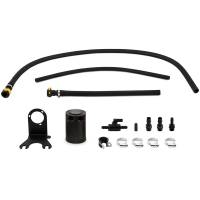 Engine and Performance - Oil System - Mishimoto - Mishimoto Jeep Wrangler JL 3.6L Baffled Oil Catch Can, 2018+ MMBCC-JLP-18PBE