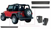 Exterior - Accessories - Bushwacker - Bushwacker TrailArmor™ Body Panel Kit 2006-2005 Jeep Wrangler 14902