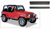 Exterior - Accessories - Bushwacker - Bushwacker TrailArmor™ Bumper Panel 2005-2003 Jeep Wrangler 14003