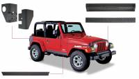 Bushwacker - Bushwacker TrailArmor™ Body Panel Kit 1997-2006 Jeep Wrangler 14901