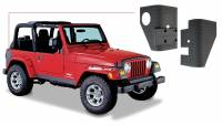 Exterior - Accessories - Bushwacker - Bushwacker TrailArmor™ Corner Guard 2004-2003 Jeep Wrangler 14001