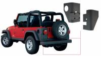 Exterior - Accessories - Bushwacker - Bushwacker TrailArmor™ Corner Guard 2006-2003 Jeep Wrangler 14004