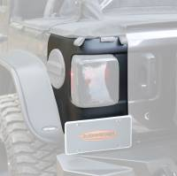 Exterior - Accessories - Bushwacker - Bushwacker TrailArmor™ Corner Guard 2018-2020 Jeep Wrangler 14084