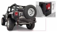 Exterior - Accessories - Bushwacker - Bushwacker TrailArmor™ Corner Guard 2007-2017 Jeep Wrangler 14009