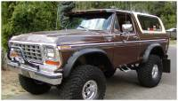 Bushwacker - Bushwacker Cut-Out™ Fender Flares - Rear 1973-1979 Ford F-350 20014-11
