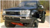 Bushwacker - Bushwacker Cut-Out™ Fender Flares - Front 1989-1992 Toyota Pickup 31019-11