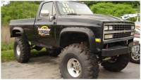 Bushwacker - Bushwacker Cut-Out™ Fender Flares - Front 1981-1986 Chevrolet C10 40019-11