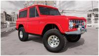 Bushwacker - Bushwacker Cut-Out™ Fender Flares - Front 1973-1977 Ford Bronco 20001-07