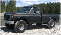 Bushwacker - Bushwacker Cut-Out™ Fender Flares - Front 1980-1986 Ford Bronco 20011-11