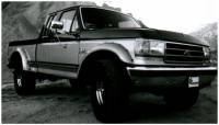 Bushwacker - Bushwacker Cut-Out™ Fender Flares - Front 1987-1991 Ford Bronco 20017-11