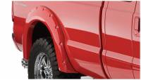 Bushwacker - Bushwacker Pocket Style® Fender Flares - Rear 2006-2005 Ford F-250 Super Duty 20050-02