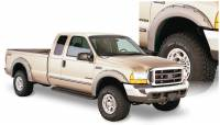 Bushwacker - Bushwacker Pocket Style® Fender Flares - Front and Rear 2006-2005 Ford F-250 Super Duty 20914-02
