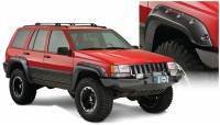 Bushwacker - Bushwacker Cut-Out™ Fender Flares - Front and Rear 1993-1998 Jeep Grand Cherokee 10916-07