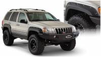 Bushwacker - Bushwacker Cut-Out™ Fender Flares - Front and Rear 1999-2004 Jeep Grand Cherokee 10926-07