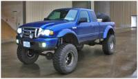 Bushwacker - Bushwacker Cut-Out™ Fender Flares - Front 1998-2011 Ford Ranger 21027-11