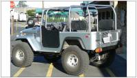 Bushwacker - Bushwacker Cut-Out™ Fender Flares - Rear 1965-1984 Toyota Land Cruiser 30002-07