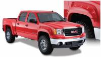 Bushwacker - Bushwacker Cut-Out™ Fender Flares - Front and Rear 2007-2013 GMC Sierra 1500 40947-02