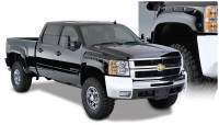 Bushwacker - Bushwacker Cut-Out™ Fender Flares - Front and Rear 2008-2007 Chevrolet Silverado 1500 40949-02