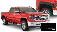 Bushwacker - Bushwacker Pocket Style® Painted Fender Flares - Front and Rear 2016-2018 Chevrolet Silverado 1500 40957-34