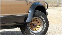 Bushwacker - Bushwacker Cut-Out™ Fender Flares - Front 1983-1993 Chevrolet S10 Blazer 41009-11
