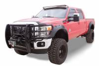 Bushwacker - Bushwacker Cut-Out™ Fender Flares - Front and Rear 2011-2016 Ford F-450 Super Duty 20940-02