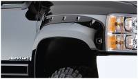 Bushwacker - Bushwacker Cut-Out™ Fender Flares - Front 2008-2007 Chevrolet Silverado 1500 40097-02