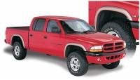 Bushwacker - Bushwacker Extend-A-Fender® Flares - Front and Rear 2000-2004 Dodge Dakota 51905-02