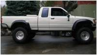 Bushwacker - Bushwacker Cut-Out™ Fender Flares - Rear 1989-1992 Toyota Pickup 31020-11