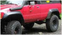 Bushwacker - Bushwacker Cut-Out™ Fender Flares - Rear 1984-1989 Toyota 4Runner 31022-11