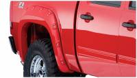 Bushwacker - Bushwacker Boss™ Pocket Style® Fender Flares - Rear 2008-2007 GMC Sierra 1500 40086-02