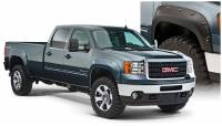 Bushwacker - Bushwacker Boss™ Pocket Style® Fender Flares - Front and Rear 2011-2014 GMC Sierra 3500 HD 40953-02