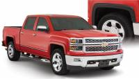 Bushwacker - Bushwacker OE Style® Fender Flares - Front and Rear 2017-2016 Chevrolet Silverado 1500 40956-02