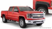 Bushwacker - Bushwacker Pocket Style® Fender Flares - Front and Rear 2016-2015 Chevrolet Silverado 1500 40957-02