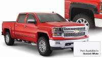 Bushwacker - Bushwacker Pocket Style® Painted Fender Flares - Front and Rear 2016-2018 Chevrolet Silverado 1500 40957-14