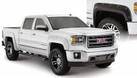 Bushwacker - Bushwacker Boss™ Pocket Style® Fender Flares - Front and Rear 2016-2018 GMC Sierra 1500 40976-02