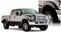 Bushwacker - Bushwacker Extend-A-Fender® Flares - Front and Rear 2006-2005 Ford F-250 Super Duty 20928-02