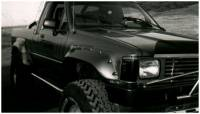 Bushwacker - Bushwacker Cut-Out™ Fender Flares - Rear 1984-1988 Toyota Pickup 31010-11