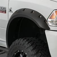 Bushwacker - Bushwacker Max Coverage Pocket Style® Fender Flares - Front 2016-2015 Chevrolet Silverado 1500 40091-02
