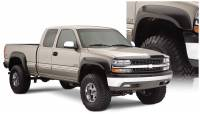 Bushwacker - Bushwacker Extend-A-Fender® Flares - Front and Rear 2004-2003 GMC Sierra 2500 40945-02