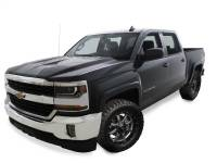 Bushwacker - Bushwacker OE Style® Fender Flares - Front and Rear 2016-2018 Chevrolet Silverado 1500 40956-84