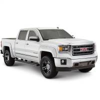 Bushwacker - Bushwacker Boss™ Pocket Style® Fender Flares - Front and Rear 2017, 2018 Chevrolet Silverado 1500 40957-84