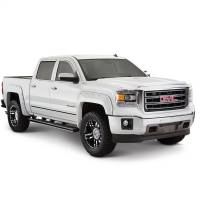 Exterior - Fenders & Flares - Bushwacker - Bushwacker Boss™ Pocket Style® Fender Flares - Front and Rear 2017, 2018 Chevrolet Silverado 1500 40959-84