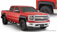 Bushwacker - Bushwacker Extend-A-Fender® Flares - Front and Rear 2018-2015 Chevrolet Silverado 1500 40964-02
