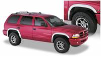 Bushwacker - Bushwacker Extend-A-Fender® Flares - Front and Rear 1998-2003 Dodge Durango 51904-02