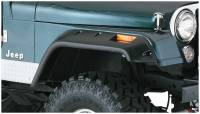 Bushwacker - Bushwacker Cut-Out™ Fender Flares - Front 1959-1975 Jeep CJ6 10059-07