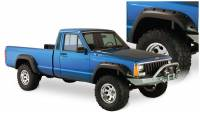 Bushwacker - Bushwacker Cut-Out™ Fender Flares - Front and Rear 1987-1994 Jeep Cherokee 10912-07